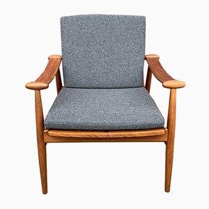 Teak Lounge Chair by Finn Juhl, 1950s