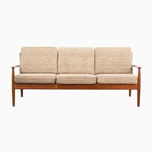 Mid-Century Danish Sofa by Grete Jalk for France & Søn / France & Daverkosen, 1960s
