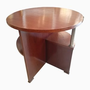 Vintage Art Deco French Side Table by Louis Sognot, 1930s