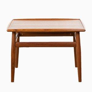 Table d'Appoint par Grete Jalk pour Glostrup, Danemark, années 60