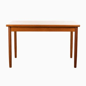 Vintage Teak Extendable Dining Table, 1960s