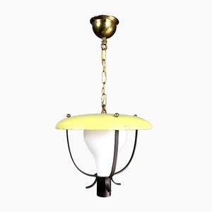 Niederländische Vintage Deckenlampe, 1960er