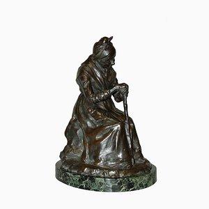 Antike Skulptur aus Bronze von Gobert