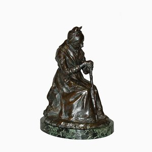 Antique Bronze Sculpture by Gobert