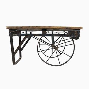 Table à Manger Industrielle Vintage