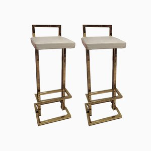 Bar Stools from Maison Jansen, 1970s, Set of 2