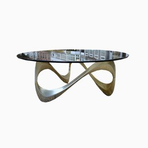 Model Snake Coffee Table by Knut Hesterberg, 1970s