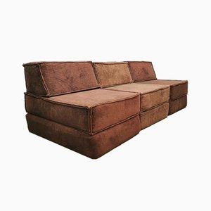 Modular Sofa by Team Form AG for COR Sitzcomfort, 1970s, Set of 3