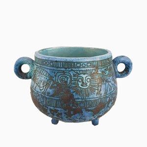 Calderone in ceramica di Jacques Blin, anni '60