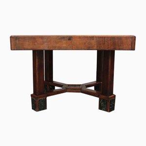 Antiker Esstisch aus Kirschholz