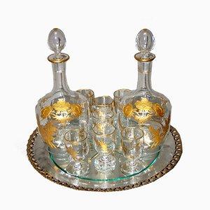 Service à Liqueur Ancien en Cristal par Baccarat, Set de 10
