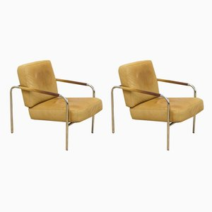 Model Susanna Lounge Chairs by Gabriele Mucchi for Zanotta, 1980s, Set of 2