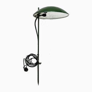 Mid-Century Green Outdoor Lawn Light