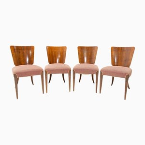 Model H-214 Dining Chairs by Jindřich Halabala for UP Závody, 1950s, Set of 4