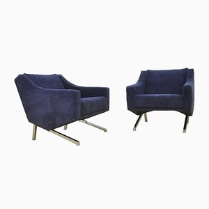 Mid-Century German Armchairs, 1969, Set of 2