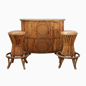 Table de Bar & Tabourets, années 60