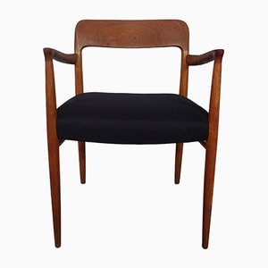 Modell 56 Armlehnstuhl aus Teak von Niels Otto Møller für J.L. Møllers, 1960er