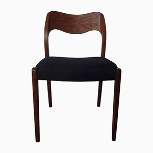 Teak Model 71 Side Chair by Niels Otto Møller for J.L. Møllers, 1960s