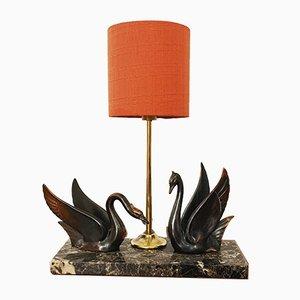 Lámpara de mesa Hollywood Regency, años 60
