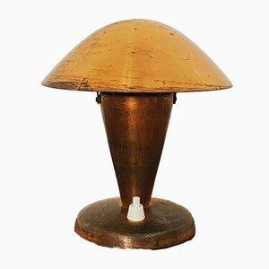 Lampe de Bureau en Cuivre par Josef Hurka pour Napako, années 30