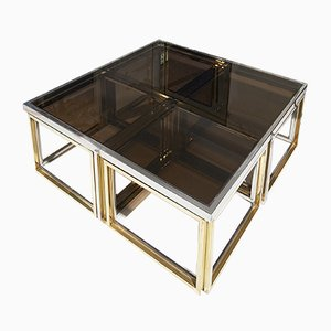 Coffee Table from Maison Charles, 1970s