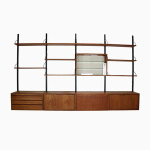 Large Wall Unit by Poul Cadovius for Royal System, 1960s