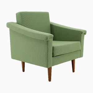 Poltrona Mid-Century verde, anni '60