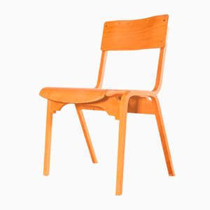 Stacking Dining Chairs by Stafford for Tecta, 1950s, Set of 24