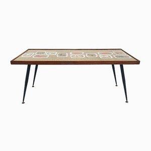 Table Basse en Or Émaillé de Paolo De Poli, Italie, années 50