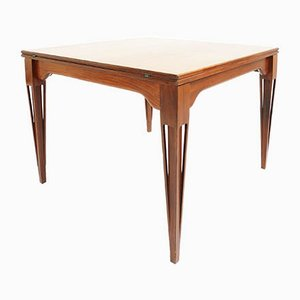 Italian Extendable Model Orchidea Rosewood Dining Table from Proserpio, 1950s