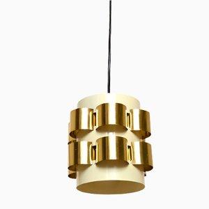 Mid-Century Danish Pendant Lamp by Werner Schou for Cornell Elektro