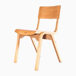 Stacking Dining Chair from Lamstak, 1950s