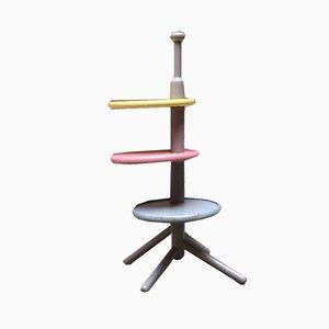 Italian Solid Wood Coffee Table by Toshiyuki Kita for Bernini, 1960s, Set of 2