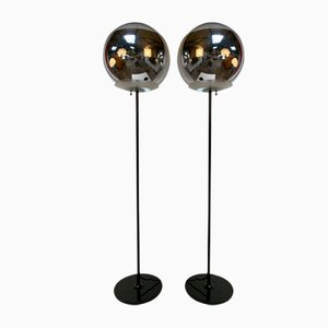 Vintage Floor Lamps, Set of 2