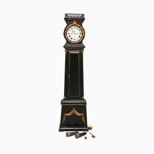 Antique Bronzed Clock from Bornholm, 1830s