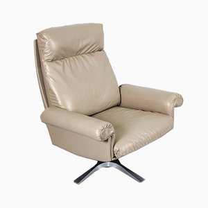 Vintage Model DS31 Swivel Lounge Chair from de Sede, 1970s