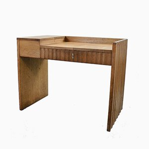 Mid-Century Oak Desk, 1950s