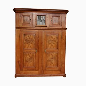 19th Century Swiss Cherrywood Cupboard