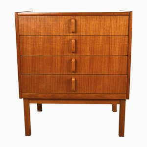 Mid-Century Swedish Teak Dresser by Bertil Fridhagen for Bodafors, 1960s
