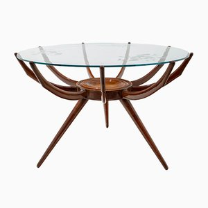 Mid-Century Italian Spider Coffee Table by Carlo de Carli, 1950s