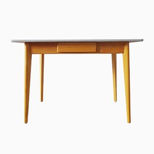 German Beech and Formica Dining Table, 1960s