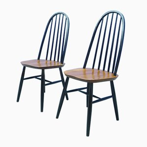 Mid-Century Dining Chairs by Lucian Ercolani for Ercol, 1960s, Set of 2