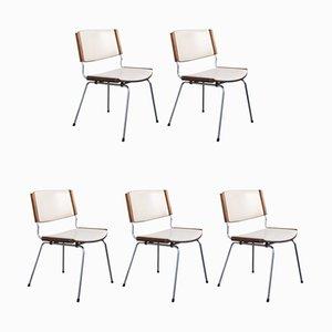 Mid-Century Modell ND 150 Esszimmerstühle von Nanna Ditzel für Kolds Savvaerk, 5er Set