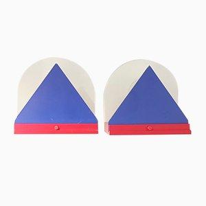 Appliques Postmodernes d'Ikea, années 80, Set de 2