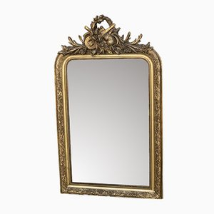 Antique Louis Philippe French Gilt Mirror