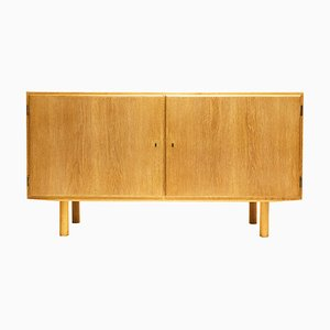 Mid-Century Danish Oak Sideboard by Carlo Jensen for Aage Hundevad, 1960s
