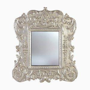 Vintage Empire Style Wooden Mirror, 1970s