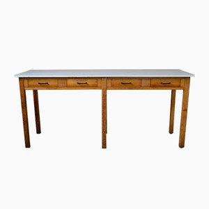 Tavolo da lavoro grande, anni '50