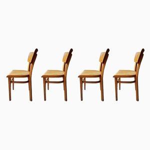 Chaises de Bistrot de Thonet, années 40, Set de 4