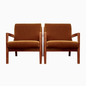 Mid-Century Finnish Model Trienna Lounge Chair by Carl Gustaf Hiort af Ornäs, 1960s, Set of 2